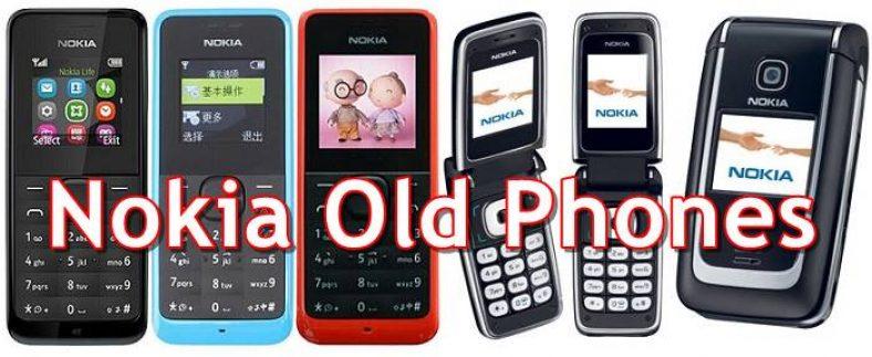 Buy the Nokia Old Phones