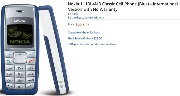 Nokia old phones buy