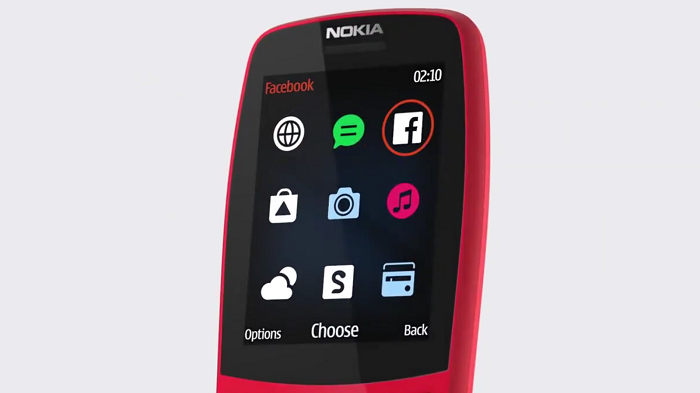 Nokia 210; Nokia featured phone