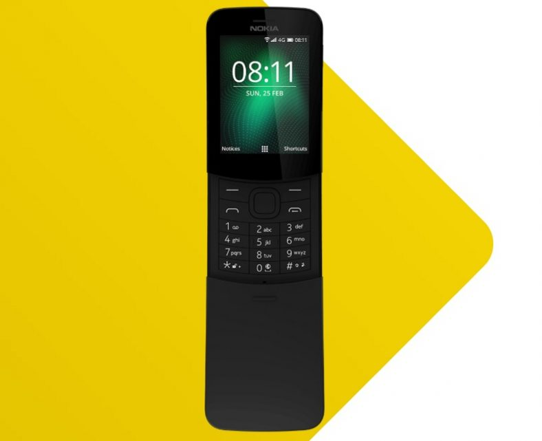 Nokia 8110 4G gets WhatsApp Support in India