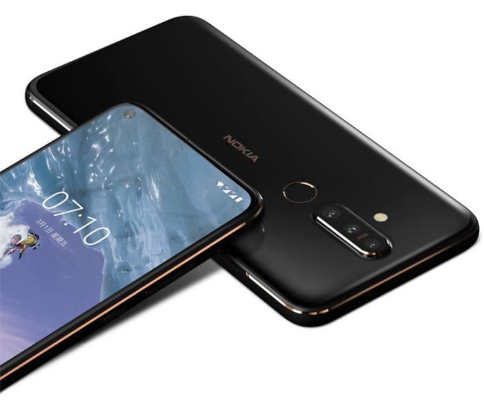 Nokia X71 phone