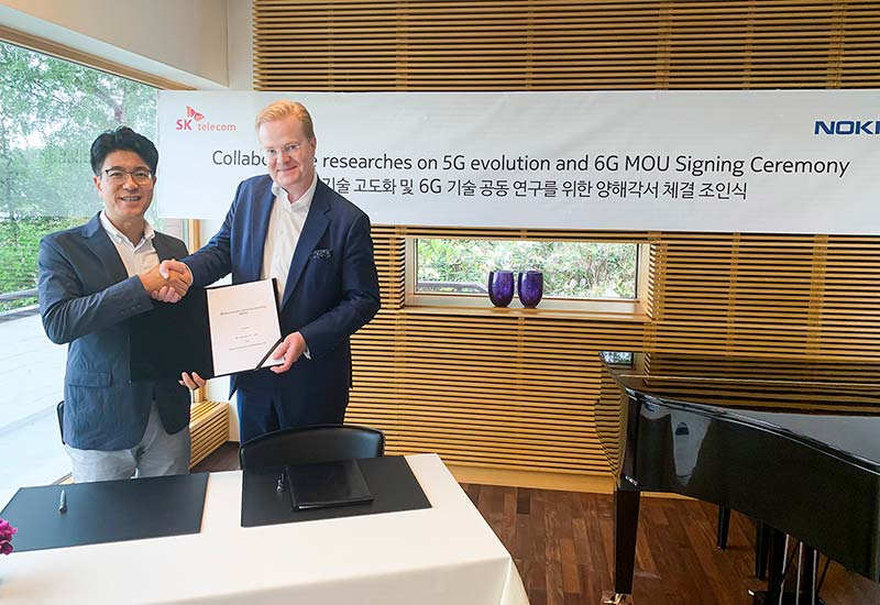 SK Telecom ties up with Nokia and Ericsson for 6G Development