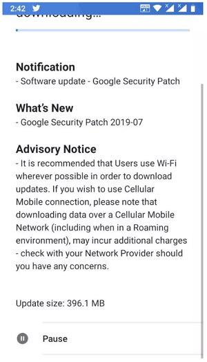 Nokia 5 Update